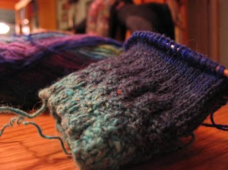 Noro Sock Needles andYarn