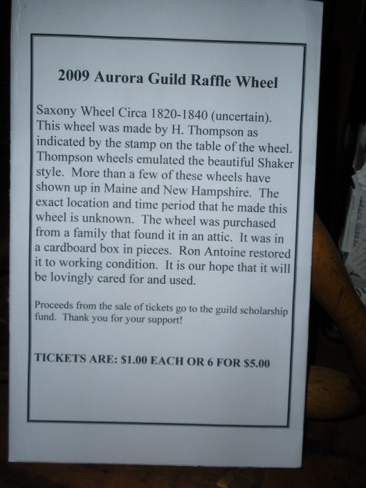 Raffle Wheel Info