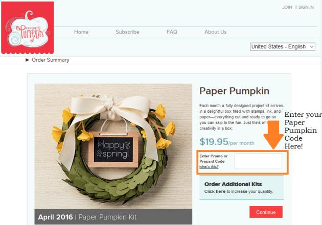 Paper Pumpkin Join Sample