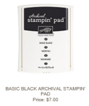 Basic Black Archival Stampin' Pad