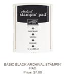 Basic Black Archival Stampin' Pad