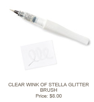 Clear Wink of Stella Glitter Brush