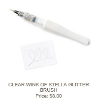 Clear Wink of Stella Glitter Brush