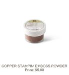 Copper Embossing Powder