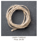 Linen Thread 104199