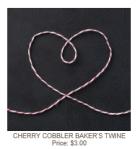 123125 Cherry Cobbler Baker's Twine