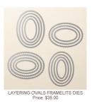 141706 Layering Ovals Framelits