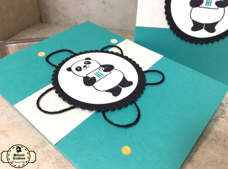 Party Pandas SAB Card - 1