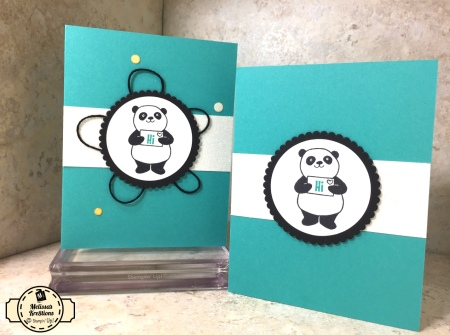 Party Pandas SAB Card - 2